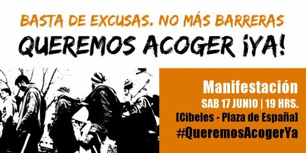 "Manifestación ""Queremos acoger ¡ya!"" @ De Cibeles a Pza. España | Madrid | Comunidad de Madrid | España"