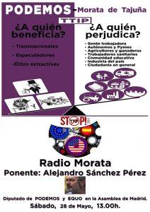Radio Morata - Ponencia sobre el TTIP @ Radio Morata