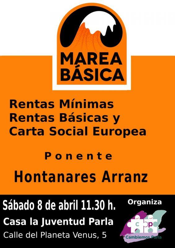 Parla - Acto sobre Renta Básica @ Casa de la Juventud | Parla | Comunidad de Madrid | España