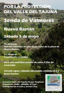 Nuevo Baztán: Senda de Valmores en el Valle del Tajuña @ Bares de la plaza de Nuevo Baztán | Nuevo Baztán | Comunidad de Madrid | España