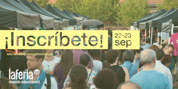 [Economiasolidaria] ¿Ganas de Feria? ¡Abiertas las inscripciones para participar en La VI Feria! @ Centro Cultural de la Casa del Reloj  | Madrid | Comunidad de Madrid | España