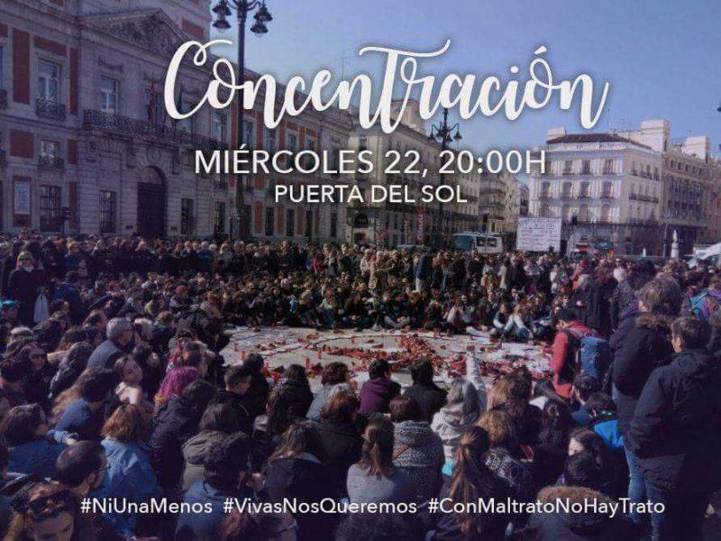 Concentración feminista #TodasVamosASol @ Puerta del Sol | Madrid | Comunidad de Madrid | España