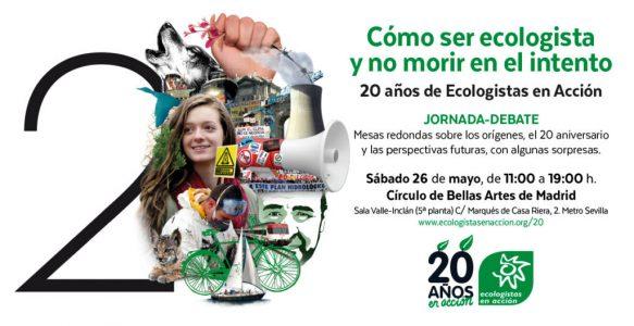 20 Aniversario de Ecologistas en Acción @ Círculo de Bellas Artes de Madrid, Sala Valle-Inclán | Madrid | Comunidad de Madrid | España