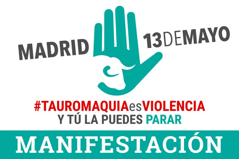 Manifestación contra la tauromaquia @ Madrid | Madrid | Comunidad de Madrid | España
