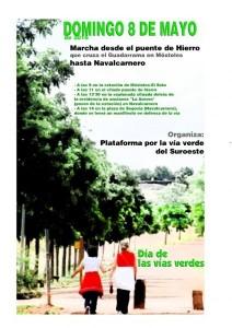 Móstoles: Marcha por el Día de las Vías Verdes @ Estación Cercanías Móstoles-El Soto | Móstoles | Comunidad de Madrid | España