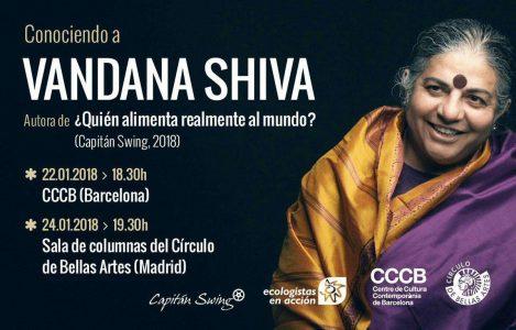 Encuentro con Vandana Shiva @ Círculo de Bellas Artes | Madrid | Comunidad de Madrid | España