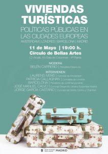 Debate sobre viviendas turísticas en ciudades europeas @ Círculo de Bellas Artes | Madrid | Comunidad de Madrid | España